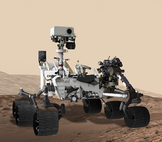 curiosity rover on mars